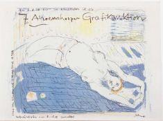 Dieter Goltzsche (Dresden 1934 -, deutscher Maler u. Grafiker, Std. a.d. HS f. Bildende Künste