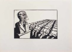 Thea Kowar (Ringenhain/ Lausitz 1945 -, deutsche Malerin, Grafikerin u. Buchillustratorin, Std. a.