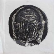 Gustav Kluge (Wittenberge 1947 - , deutscher Maler, Grafiker u. Holzschneider, Std. a.d. HS f.