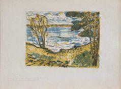 Bernhard Koban (Dresden 1931 -, deutscher Maler u. Grafiker, Std. a.d. HS f. Bildende Künste