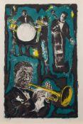 Tony Agostini (Bastia 1916 - 1990 Antony, französischer Maler u. Lithograf, Autodidakt) Louis