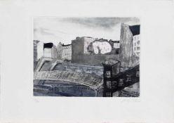 Antje Fretwurst-Colberg (Hamburg 1940 -, deutsche Malerin u. Grafikerin, Std. d. Kunsterziehung i.