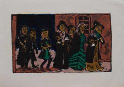 Willem Grimm (Eberstadt 1904 - 1986 Hamburg, deutscher Maler u. Grafiker, Std. a.d.