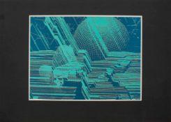 Arno Krause (Dompendel 1937 -, deutscher Maler u. Grafiker, Std. a.d. FSAK Heiligendamm,