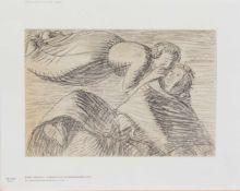 Ernst Barlach (Wedel 1870 - 1928 Güstrow, deutscher Bildhauer, Schriftsteller u. Zeichner, Std. a.d.