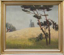 Wilhelm Facklam(Upahl 1883 - 1972 Winkelhaid, deutscher Landschaftsmaler u. Zeichner, Std. a.d. KS