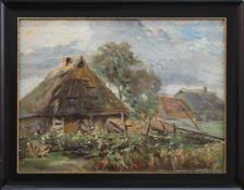 Karl Hinrichs(Nürnberg 1903 -1990 Schwerin, Landschafts- u. Stilllebenmaler, Std. a.d. AK Berlin, in