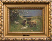 Fritz (Friedrich) Grebe(Heisebeck 1850 - 1924 Düsseldorf, deutscher Landschafts- u. Tiermaler,
