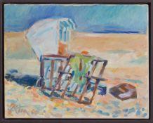Michael Korn(Berlin 1949 -, deutscher Maler u. Grafik, Std., a.d. HS f. Bildende Künste Berlin, lebt