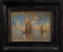 Hans Harländer(Hamburg 1880 - 1943 Arnstadt, in Hamburg tätiger Landschafts- und Marinemaler)