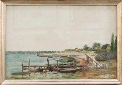 Sophus Claudius(Schirnau 1815 - 1883 Kiel, deutscher Landschafts- u. Dekorationsmaler, Ausbildung am