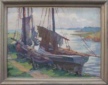 Thuro Balzer(Weißhof 1882 - 1967 Hannover, deutscher Landschaftsmaler u. Grafiker, Std. a.d. AK f.