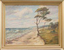 Fritz Möller-Schlünz(Schwaan 1900 - 1990 Lübeck, deutscher Landschaftsmaler u. Sänger, Std. a.d.