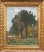 Franz Bunke(Schwaan 1857 - 1937 Weimar, deutscher Landschaftsmaler, Std. a.d. AK Berlin u. Weimar,