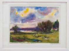 Gerhard Stengel(Leipzig 1915 - 2001 Dresden, deutscher Maler u. Grafiker, Std. a.d. AK f.