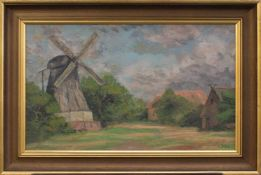 Liselotte Dross(Sorau 1887 - 1996 Payrac/ Südfrankreich, deutsche Landschaftsmalerin, Std. a.d.