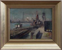 Moriz Melzer(Albendorf 1877 - 1966 Berlin, deutscher, expressiver Maler u. Grafiker, Std. a.d. KA