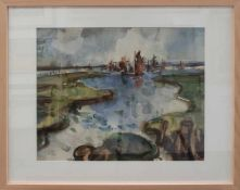 Hannes Meier(Chemnitz 1936 - 1990 Schwerin, Std. a. d. HS f. Bildende Kunst Dresden, Mitgl. d.