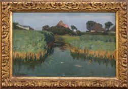 Georg Schmidgen(Bernkastl 1856 - 1903 Potsdam, deutscher Landschaftsmaler, Std. a.d. KA München u.