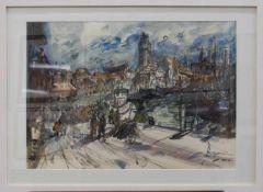 Heinz Mutterlose(Schkeuditz 1927 - 1995 ebenda, deutscher Maler, Zeichner u. Grafiker,