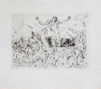 Joachim John(Tetschen 1933 - 2018 Frauenmark, deutscher Maler, Graphiker u. Autor, Std. a. d.