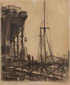 Fritz Köhler(Moritzberg 1887 - 1972 Düsseldorf, deutscher Landschafts- u. Marinemaler, Std. a.d.
