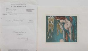 Ernst Fuchs(Wien 1930 - 2015 ebenda, österreichischer Maler, Grafiker, Bildhauer u. Philosoph)