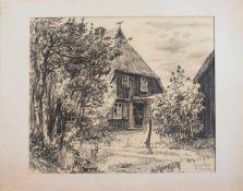 Gerhard Franke(Lugau 1926 - 2003 Neustadt/ Orla, deutscher Maler u. Grafiker, Std.a.d. HS f.