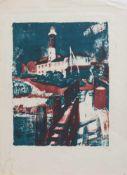 Bernhard Koban(Dresden 1931 -, deutscher Maler u. Grafiker, Std. a.d. HS f. Bildende Künste Dresden,