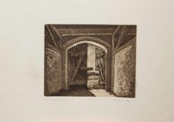 Günter Horn(Berlin 1935 -, deutscher Maler u. Graphiker, letzter lebender Schüler Otto Nagels,