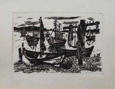 Willem Grimm(Eberstadt 1904 - 1986 Hamburg, deutscher Maler u. Grafiker, Std. a.d. Werkkunstschule