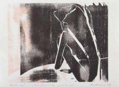 Frank Eissner(Leipzig 1959 -, deutscher Grafiker, Maler u. Zeichner, Std. a.d. HS f. Grafik u.