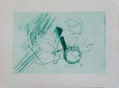 Thomas Wachweger(Breslau 1943 - 2015), deutscher Künstler, Std. a.d. HS f. Bildenden Künste Hamburg,