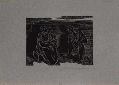 Walter Bergmann(Köln 1904 - 1965, deutscher Maler u. Grafiker, erste Studien in Offenbach, später