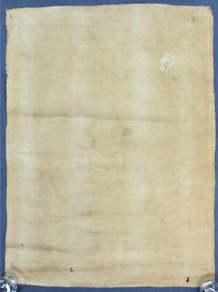 Lot 15 - Thangka, China / Tibet alt. Darstellung der Avalokiteshvara.68,5 cm x 50,5 cm. Gemälde. Bodhitsattva