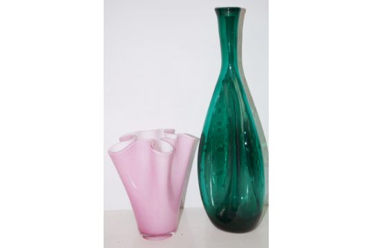 John Lewis Vase Together With Two Further Vases One Not Pictured
