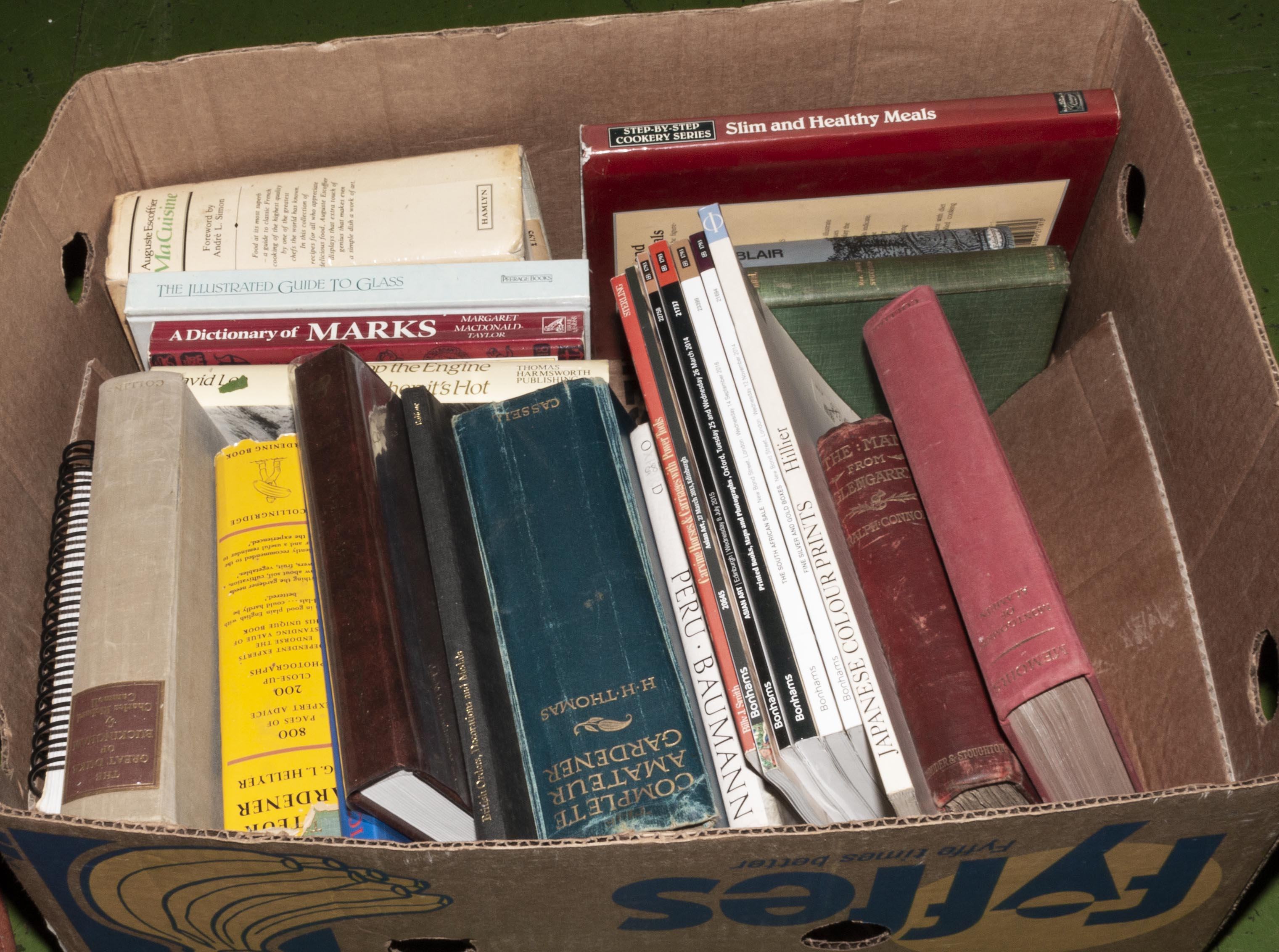 Lot 23 - A box of books