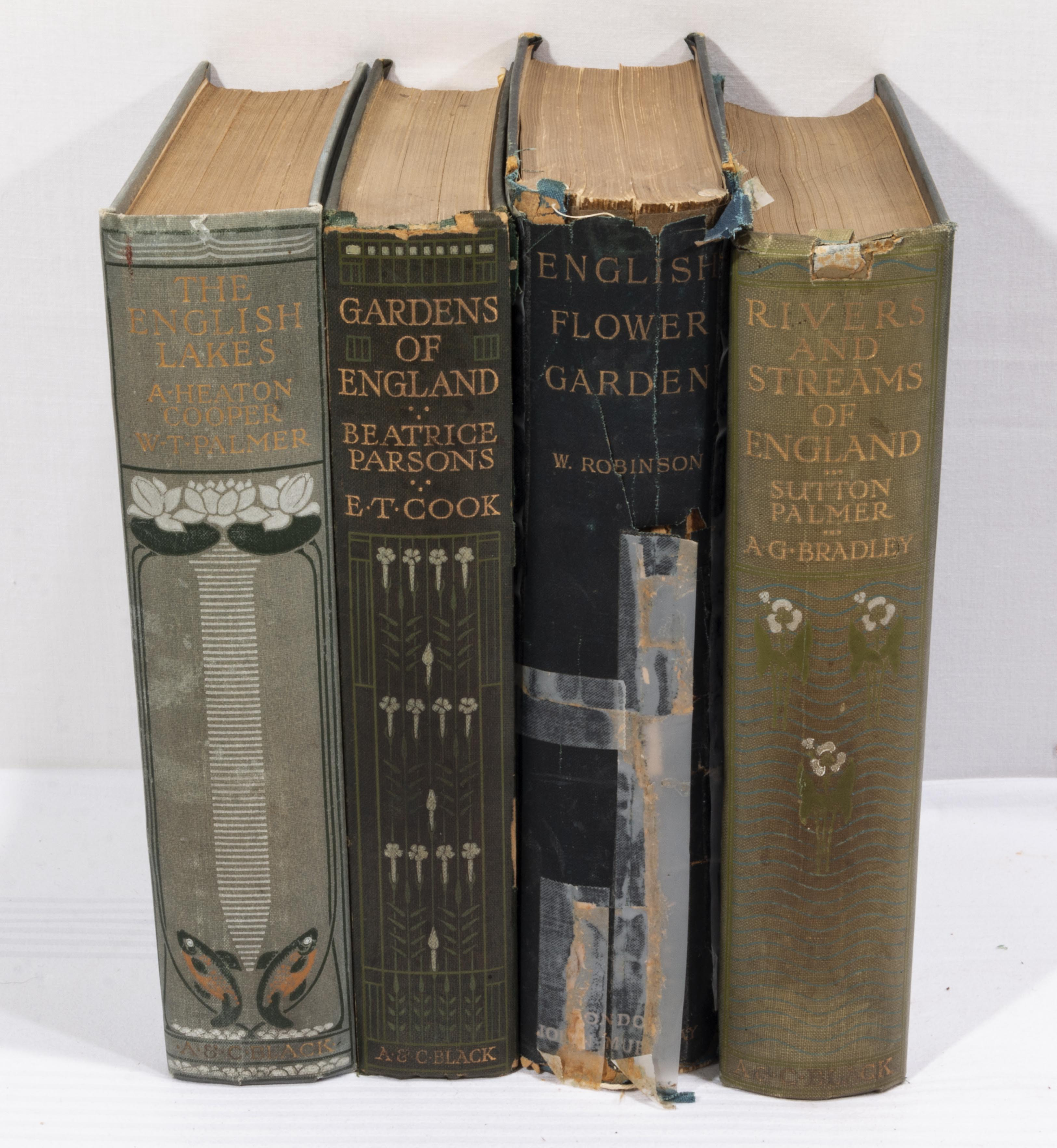 Lot 60 - Four books relating to gardens and flowers