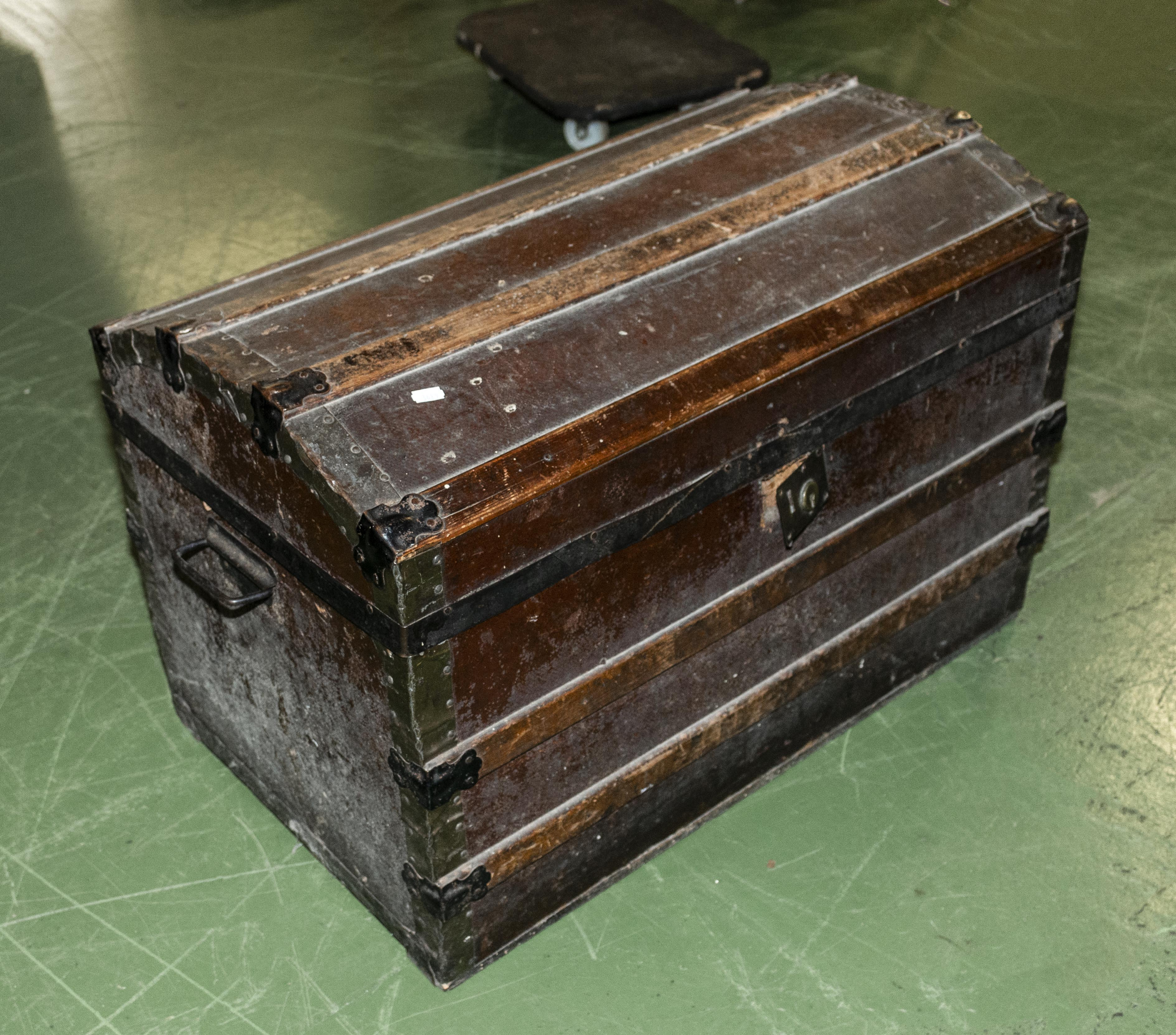 Lot 37 - A dome top trunk