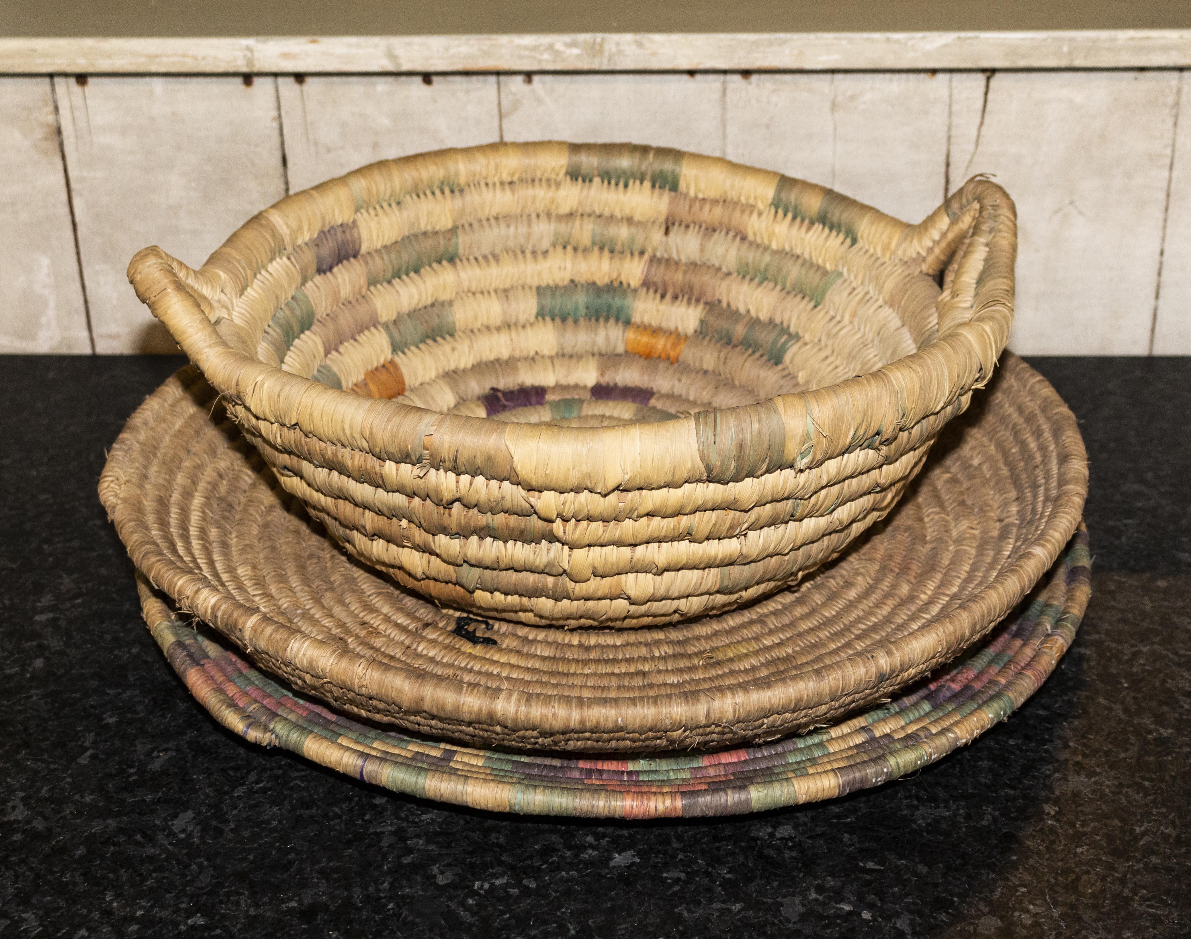 Lot 42 - Three African baskets