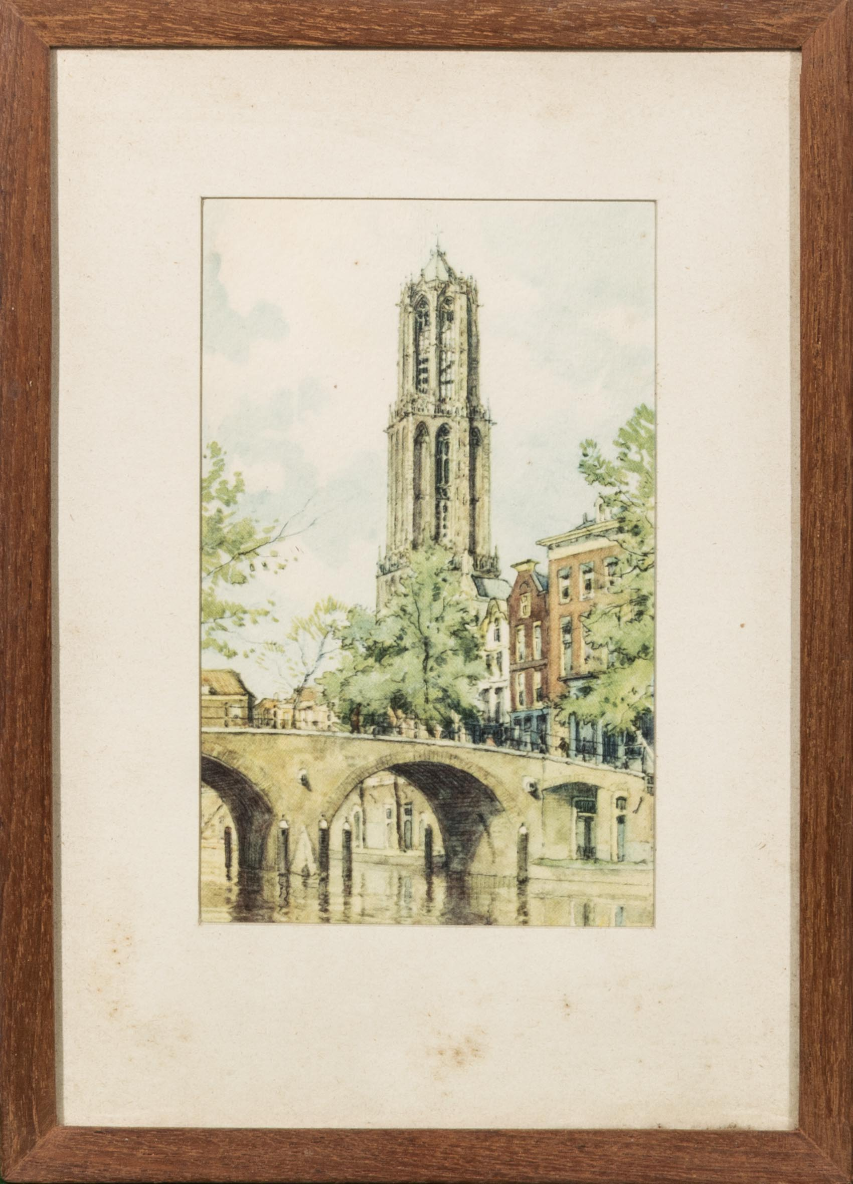 Lot 47 - Three framed watercolours