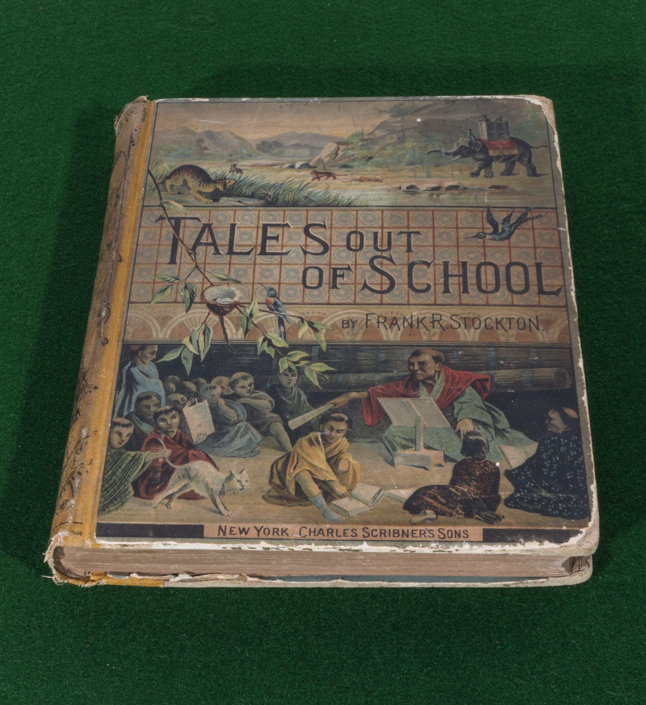 Lot 54 - An edition of 'Tales out of School, by Frank R Stockton, published by Charles Scribner's Sons New