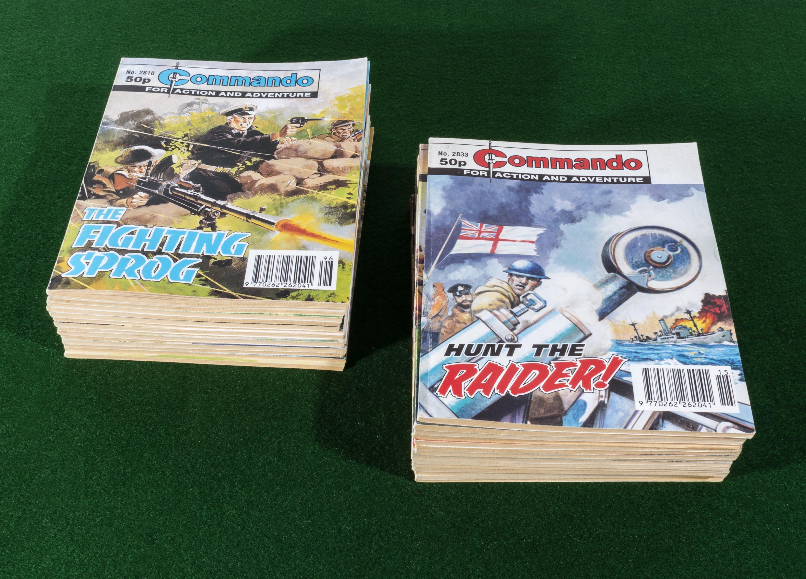 Lot 16 - 30 Commando comic books 2818/47 1994