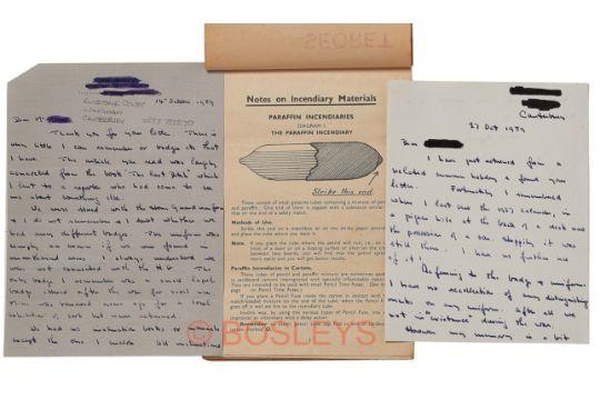 Ww2 Home Guard Auxiliary Unit Training Manual Calendar 1937a Very