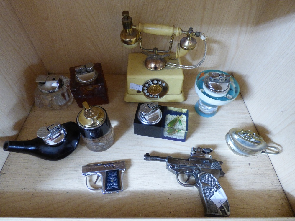Lot 15 - COLLECTION OF VINTAGE LIGHTERS