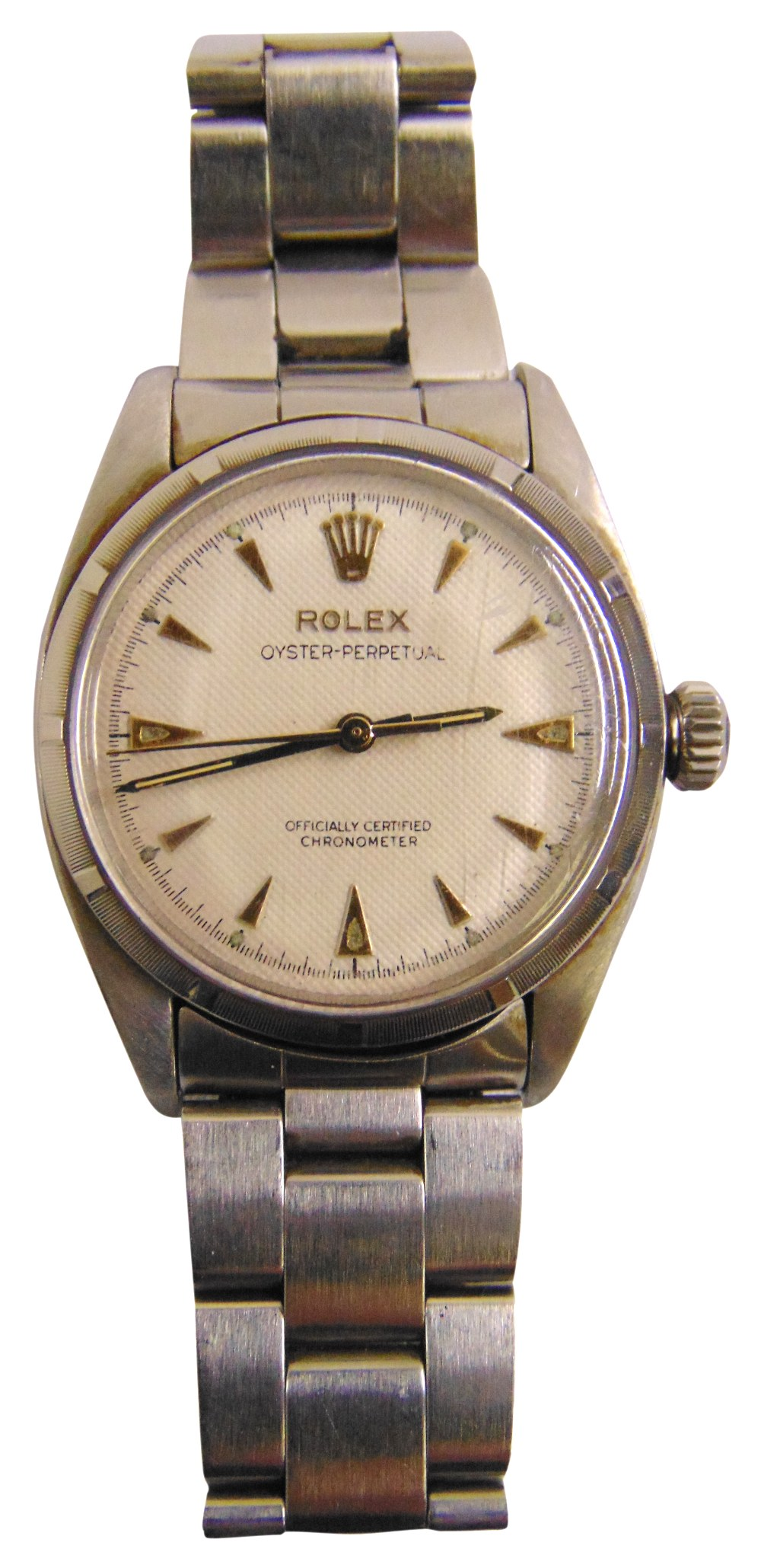 Lot 316 - Rolex Oyster Perpetual gentlemans stainless steel wristwatch