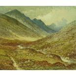 Robert Herdman-Smith (1879-1945), coloured etching