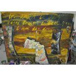 John Walker (born 1939), oil on canvas, Oceania, 1