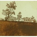 Leon Pericles (born 1949), etching, New Hotel, 197