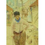 Mortimer Menpes (1855-1938), watercolour, Scheepsh